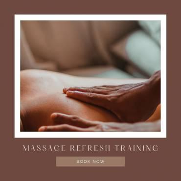 Massage Refresher Courses