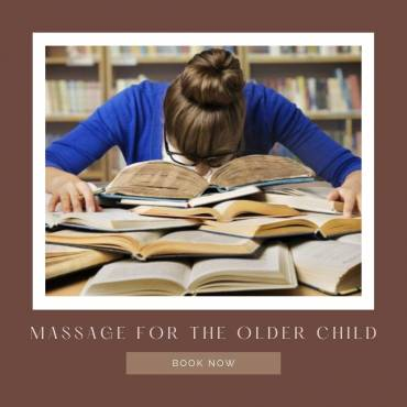 Massage for the older child