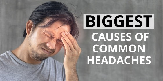 Biggest causes of common headaches and how to avoid them