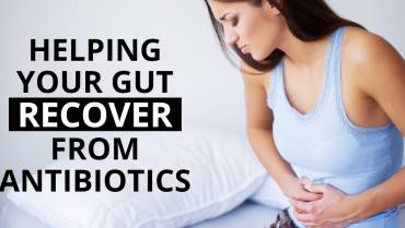Helping your gut recover from antibiotics